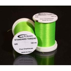Big Fly Thread Chartreuse 3/0 Bindetråd Tilbud