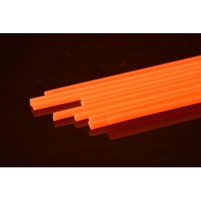 Hard Plastic Tube 3,0 mm - Rør til rørfluer