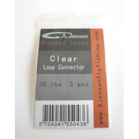 A.Jensen Loop Connector 30 LBS Braided Loops