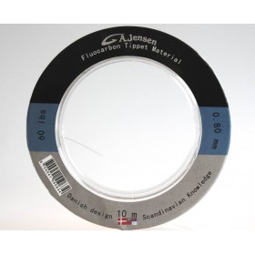 0,60 mm Fluoro Carbon Tippet Material - Gedde Leader