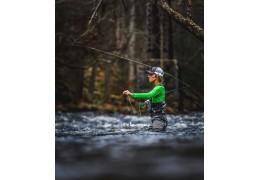 En artikel om fluefiskeri
